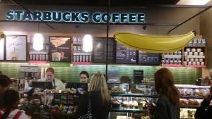 Starbucks banana