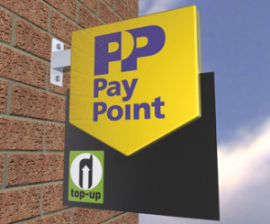 PayPoint Shop sign