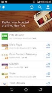 Paypal App Screenshot